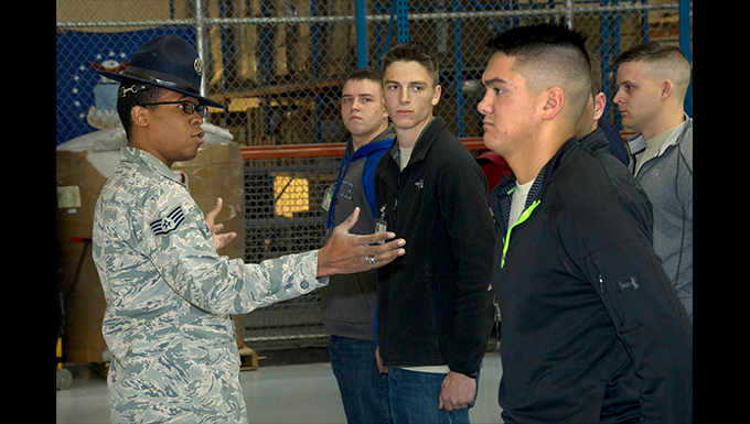 Delayed Enlistment Program prepares trainees for BMT
