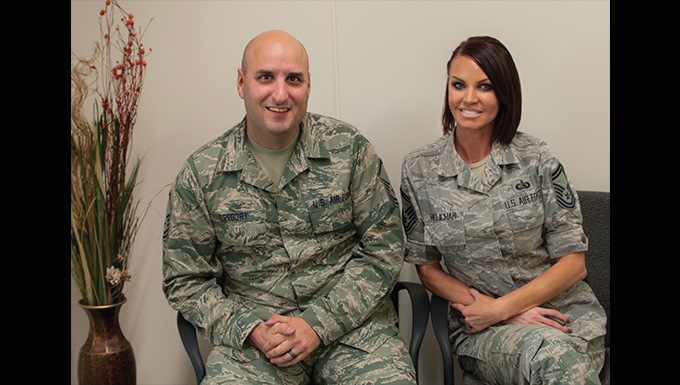 In-service recruiters provide insight for 310th Airmen