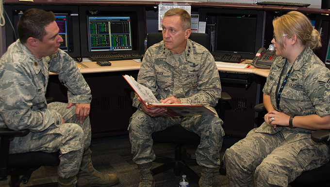 14th Air Force commander visits 310th Space Wing